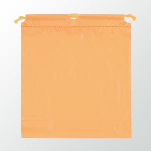 SW 二層式PE巾着ポーチ 色:オレンジ
