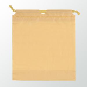 SW 二層式PE巾着ポーチ 色:ゴールド