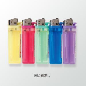 やすり式ライターN-3CR 透明5色(印刷無し)