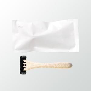 カミソリ3枚刃 ECOホワイト