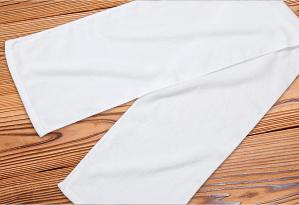 シャーリングマフラータオル240匁 白